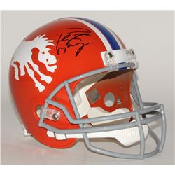 Peyton Manning Signed Throwback Broncos Full-Size Helmet (Steiner COA)