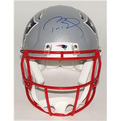 Tom Brady Signed Patriots Full-Size Authentic Pro-Line Speed Helmet (TriStar)