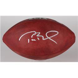 Tom Brady Signed Super Bowl XLIX Official NFL Game Ball (TriStar)