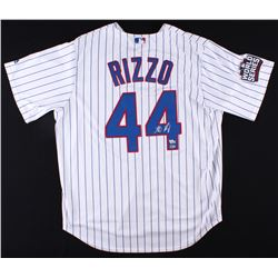Anthony Rizzo Signed Cubs 2016 World Series Authentic Jersey (MLB  Fanatics Hologram)