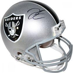 Derek Carr Signed Raiders Full-Size Helmet (Steiner)