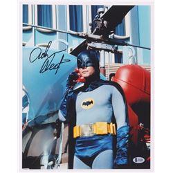 "Adam West Signed ""Batman"" 11x14 Photo (Beckett COA)"