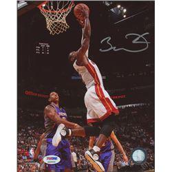 Dwyane Wade Signed Heat 8x10 Photo (PSA COA)