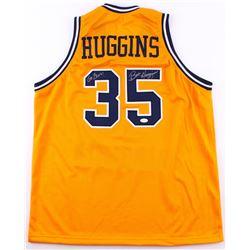 "Bob Huggins Signed West Virginia Mountaineers Jersey Inscribed ""Go Eers!"" (TSE Hologram)"