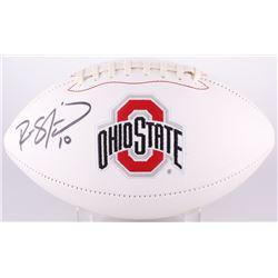 Ryan Shazier Signed Ohio State Buckeyes Logo Football (Radtke COA)