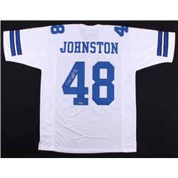 "Daryl ""Moose"" Johnston Signed Cowboys Jersey (MAB Hologram)"