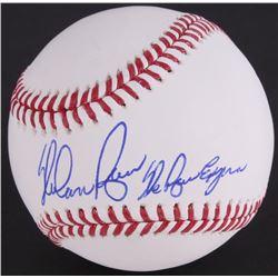 "Nolan Ryan Signed OML Baseball Inscribed ""The Ryan Express"" (Ryan Hologram  Radtke COA)"