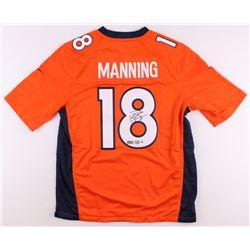 Peyton Manning Signed Broncos Jersey (Steiner COA, Radtke COA  Fanatics Hologram)