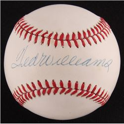 Ted Williams Signed OAL Baseball (JSA LOA)