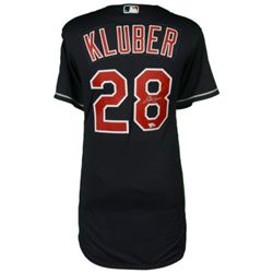 Corey Kluber Signed Indians Jersey (MLB  Fanatics)