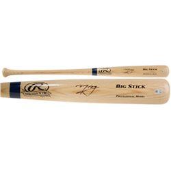 Manny Machado Signed Rawlings Adirondack Big Stick Baseball Bat (Fanatics  MLB)