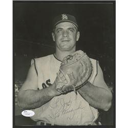 Ted Kluszewski Signed Angels 8x10 Photo (JSA COA)