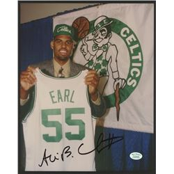 Acie Earl Signed Celtics 8x10 Photo (Hollywood Collectibles COA)