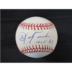 "Carl Yastrzemski Signed OML Baseball Inscribed ""HOF 89"" (JSA Hologram)"