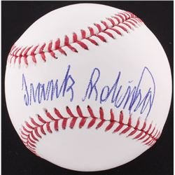 Frank Robinson Signed OML Baseball (PSA COA)