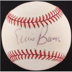 Ernie Banks Signed ONL Baseball (PSA COA)