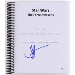 """J. J. Abrams Signed """"Star Wars: The Force Awakens"""" Full Movie Script (JSA COA)"""