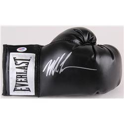 Mike Tyson Signed Everlast Boxing Glove (PSA COA)