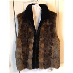 Ladies Canadian Beaver Vest