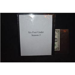 SIX FEET UNDER SEASON 2 PRODUCTION BODY BOOK