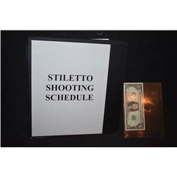 STILETTO SHOOTING SCHEDULE BTS PRODUCTION BOOK