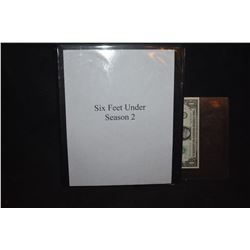 ZZ-CLEARANCE SIX FEET UNDER SEASON 2 PRODUCTION BODY BOOK