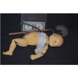 ZZ-CLEARANCE DEAD BABY AND FETUS PUPPETS