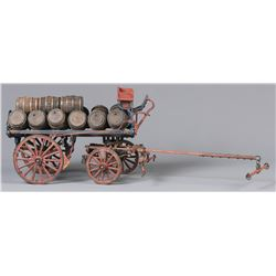 Roy Luttrell Miniature Brewery Wagon