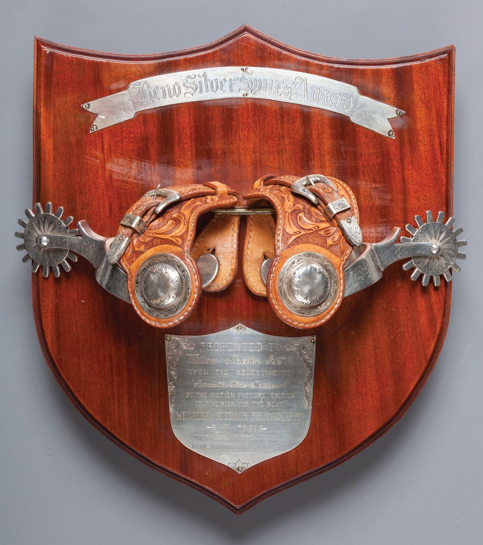 Reno Silver Spur Award 1951