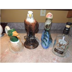 4 Decanters $10 to $50