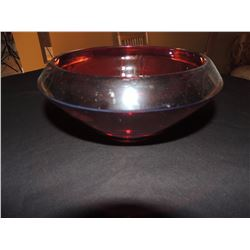 Red Glass Bowl $10 to $50