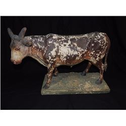 Cow Statue on Stand $100 to $225
