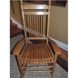 Oak Wooden Rocking Chair $75 to $150