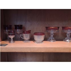 Miscellaneous Red Glass $60 to $120