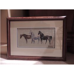 Horse Print by Ann A Overstreet 15 W x 13.5 H $75 to $150