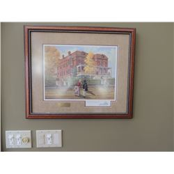 "Print, ""The Visitor"" by Robert F Morgan 12.75""H by 17""W $100 to $200"