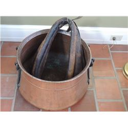 Copper Tub and Horse Collar $70 to $140