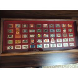 The Official Emblems of the Great American Railroads Collection - Franklin Mint 1979 $450 to $650