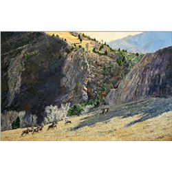 Bighorn Basin, Original Oil Painting by Linda Besse