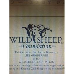 WSF Life Membership Certificate