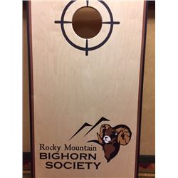 RMBS custom made Corn Hole Board set