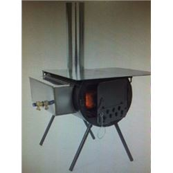 Alpine Stove Package by Colorado Cylinder Stoves.