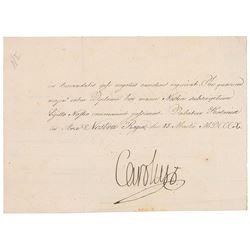 King Charles XIII
