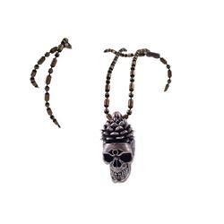 Underworld: Awakening Coven Character Skull Necklace Movie Props