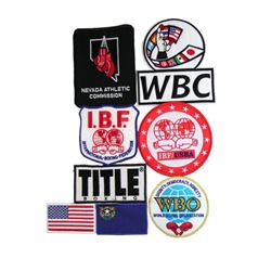 Southpaw Collection of Patches Movie Props