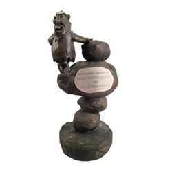 Fred Flintstone Hanna-Barbera Porcelain Statue