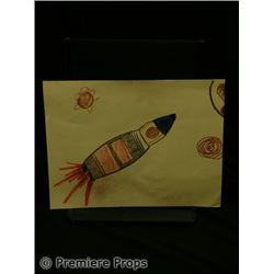 Knowing Student Rocket Drawing Movie Props