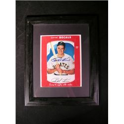 Pittsburgh Pirates Ralph Kiner Framed, Signed Photo