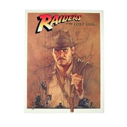 Raiders Of The Lost Ark 1981 Credits Booklet Movie Collectibles