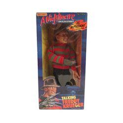 A Nightmare on Elm Street Talking Freddy Krueger Doll Original Box Movie Collectibles
